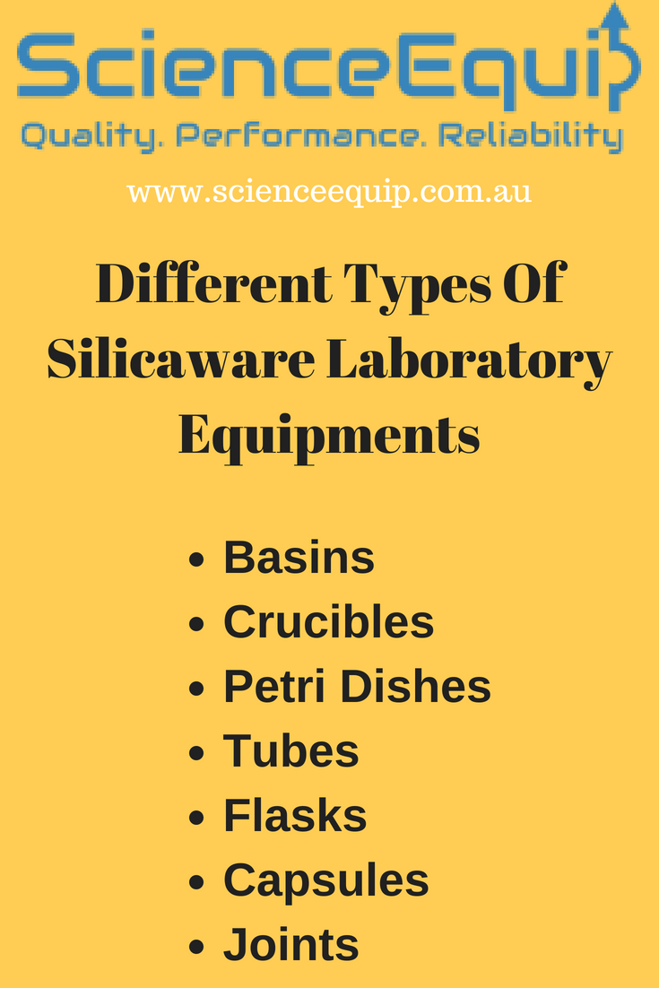 Here Some Different Types Of Silicaware Laboratory Equipments That Are Mostly Used Science Equipment Biology Labs Laboratory Equipment