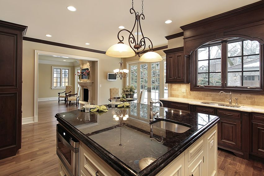 Best 143 Luxury Kitchen Design Ideas Black Granite Kitchen 400 x 300