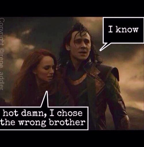 Yes. Yes, you did. Marvel memes, Loki marvel, Loki god