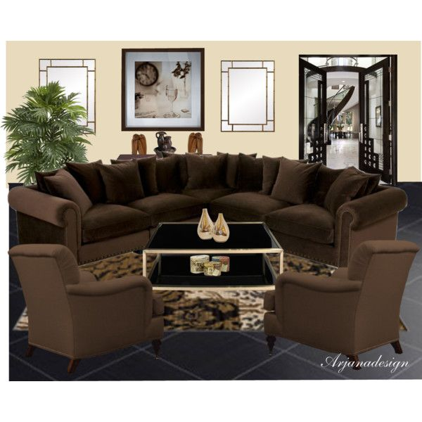 The Sitting Room, created by arjanadesign on Polyvore