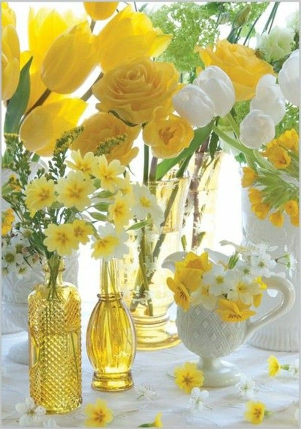 Yellow Table Decorations My Web Value