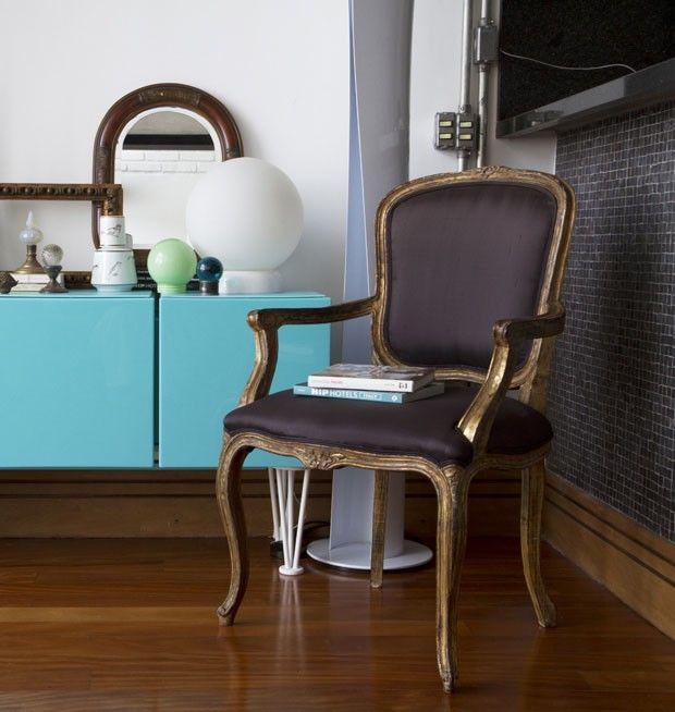 (Foto: divulgação) Cadeira Luis XV                                                                                                                                                                                 Mais
