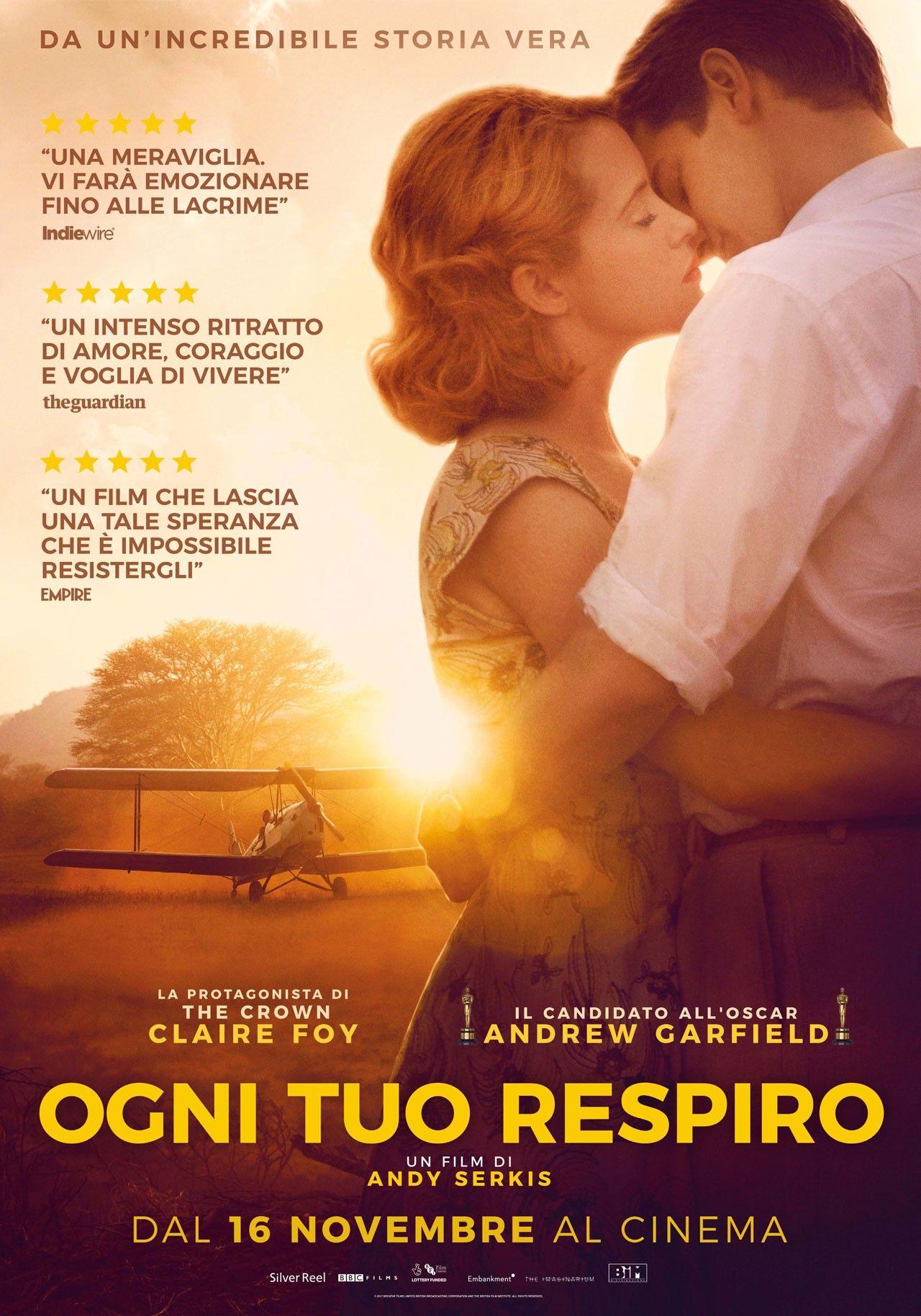 Ogni Tuo Respiro Film Ita 2017 Streaming Altadefinizione Film Guardare Film Andrew Garfield