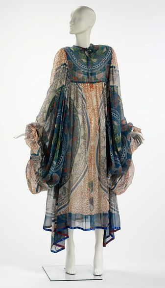 Zandra Rhodes Dress Late 1960s I Used To Wear Dresses Like This Loved Them