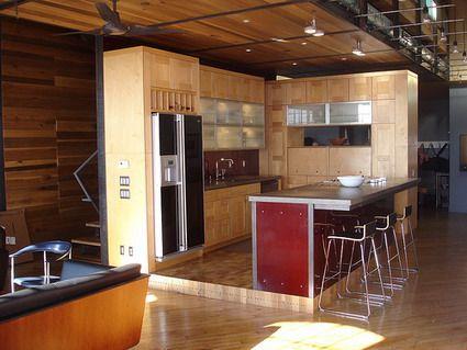 loft cocina | Espacios Pequeños | Pinterest | Loft, Lofts y Espacios ...