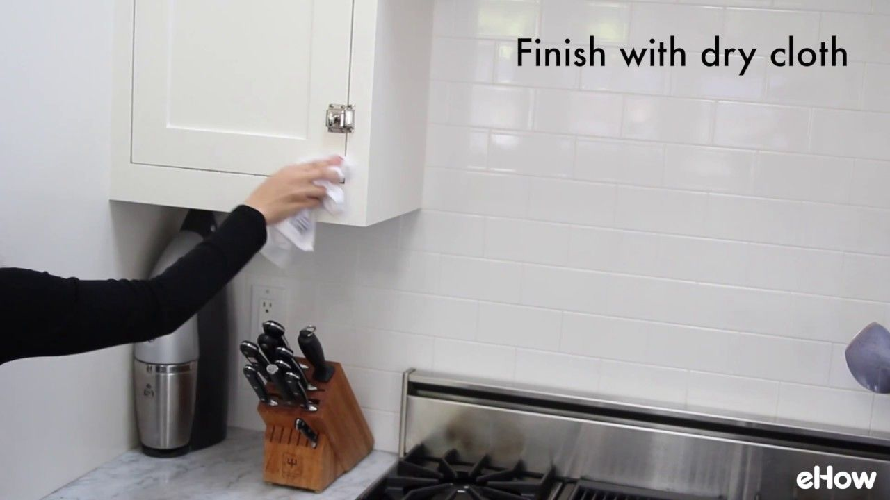 How to Clean Kitchen Cabinets | Kitchen Cleaning | Pinterest | Clean ...