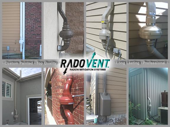 Exterior Radon System Radon Removal System Installer Radon Radon Gas Radon Mitigation
