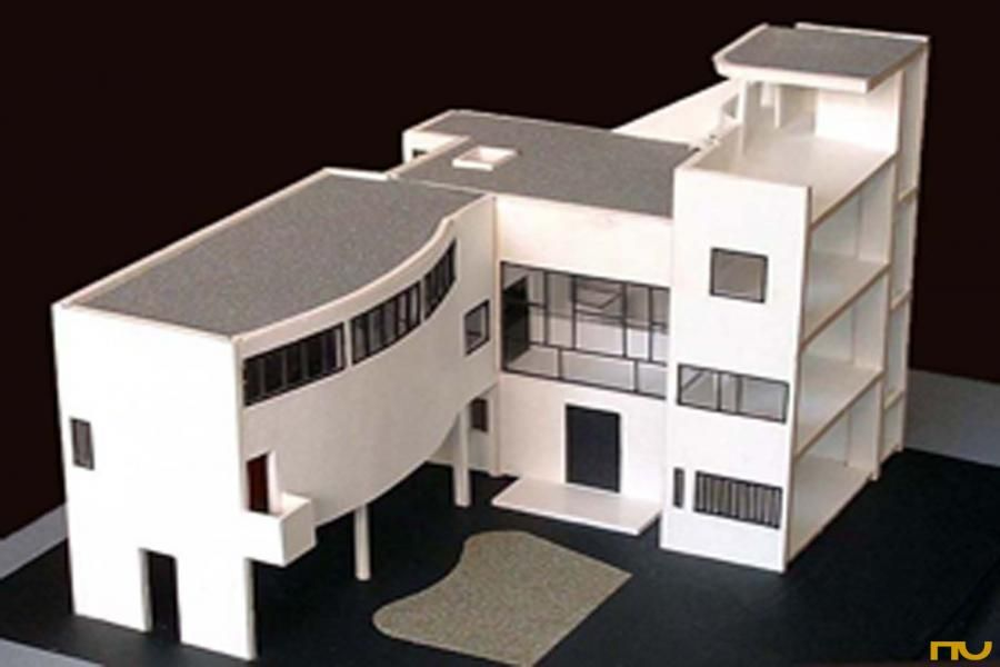 Villa roche le corbusier architectural models for Model architecture maison