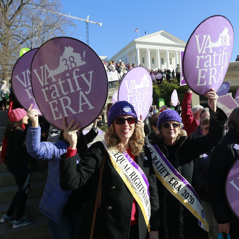 For These Women, The Equal Rights Amendment Has Been A