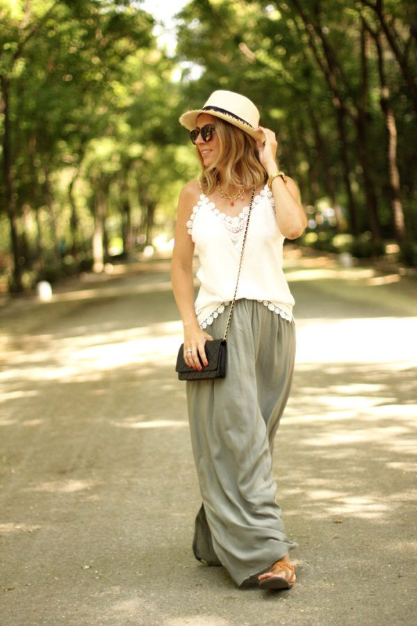 9996e15bcf52 Latest Trendy Maxi Skirt Outfit Ideas for Fashion Girls ...