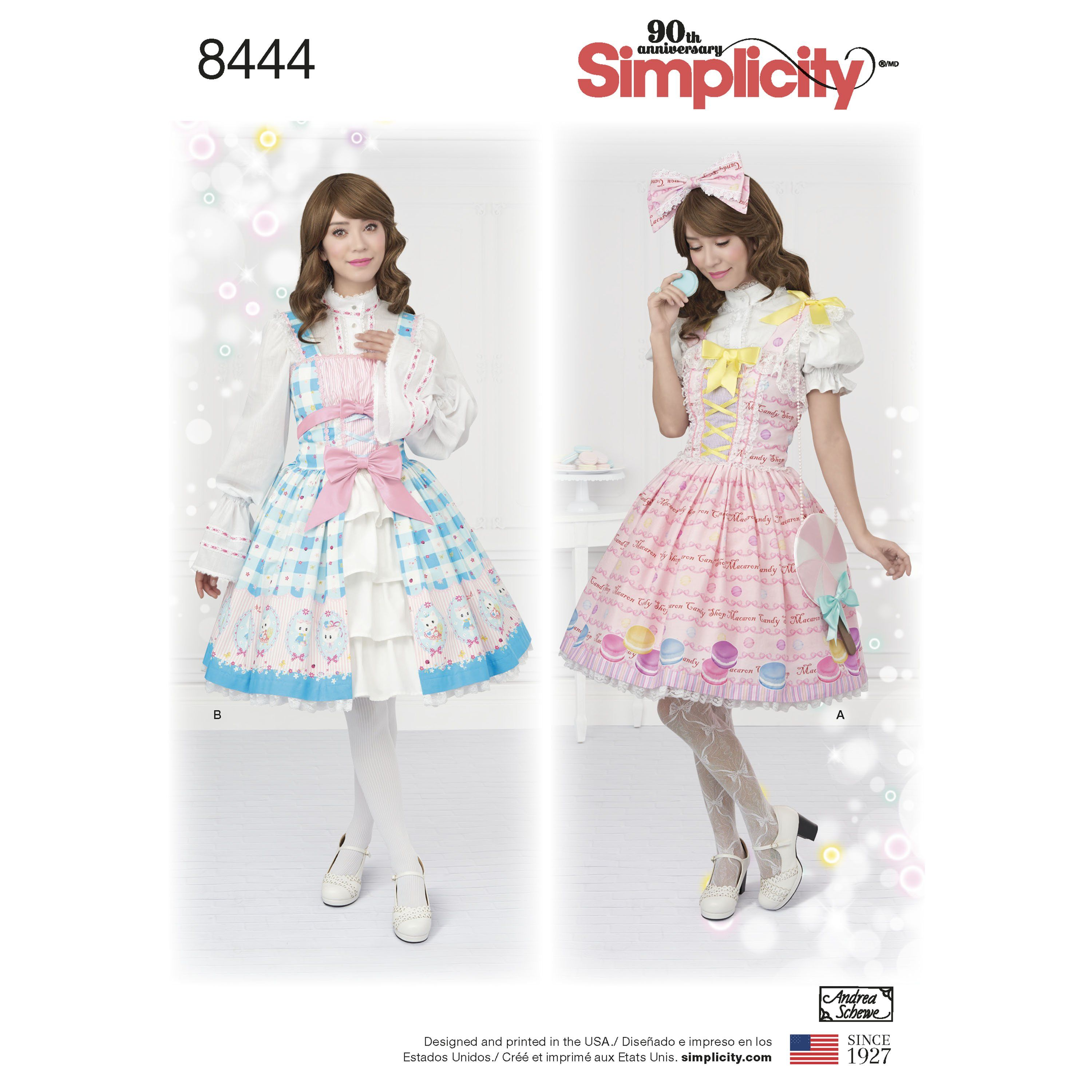 Get creative with these Misses\' Lolita ruffle dresses and make a ...