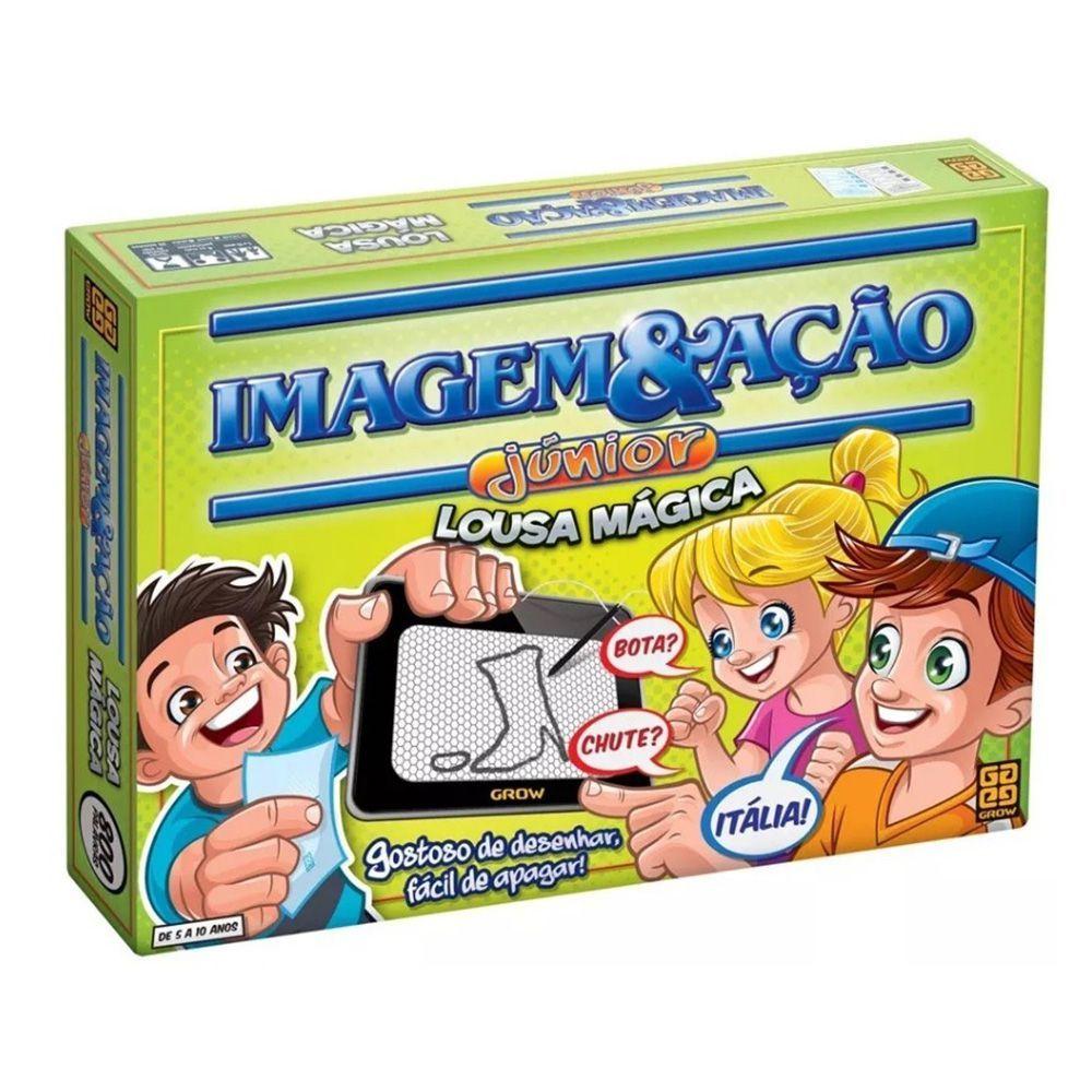 Brinquedo Infantil Espelho Magico Lousa Magica Imagem E Acao Educativo Grow Brinquedos Lousa Magica Jogos Acerte O Desenho