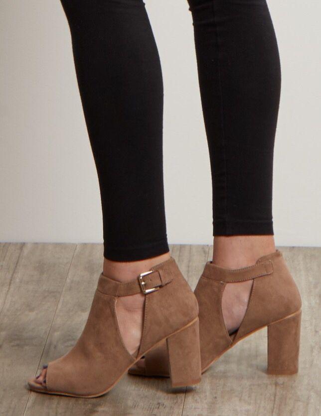 Pink Blush wedge heels