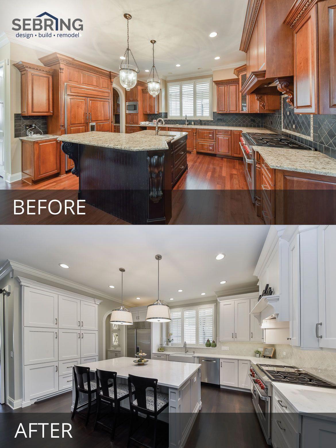 Kitchen Design Naperville Kichler Lighting Whole House Remodel Sebring Build Kitchenremodelbeforeandafter