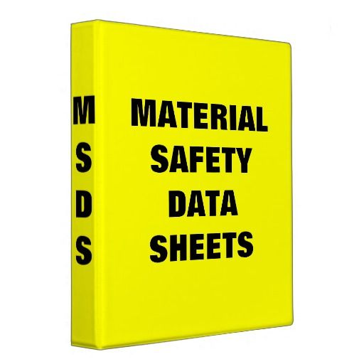 Where Can The Msds Be Found Material Safety Data Sheets Are