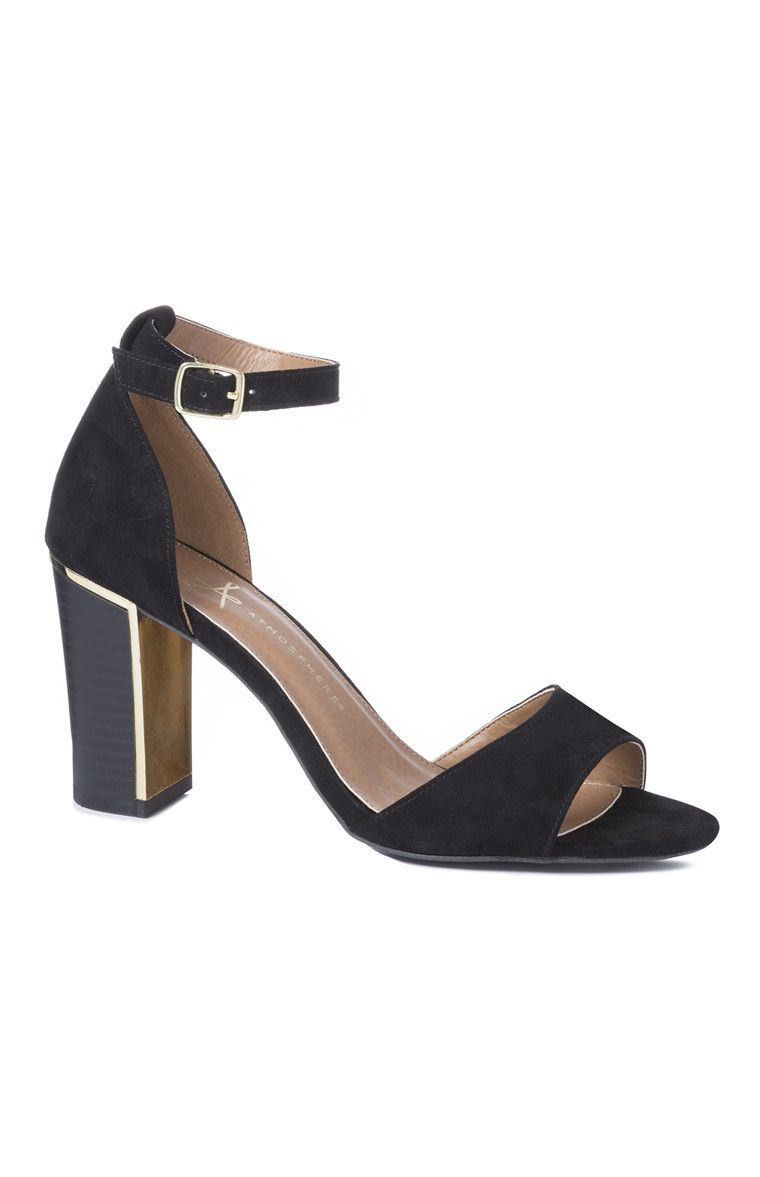 b005927fee9 Black Block Heel | Primark is the greatest | Heels, Fashion, Shoes