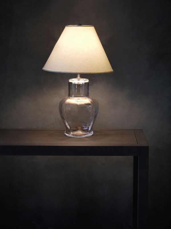 Shop handcrafted glass or pottery lighting from simon pearce made in vermont and available in pendants or table lamps with coordinating linen shades