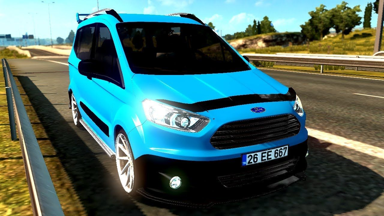 Ets2 Car Mod Ford Tourneo Courier Car Mods Suv Car Ford