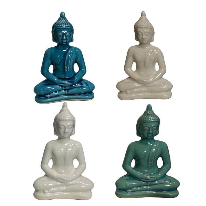 Ceramic Buddha Figurine