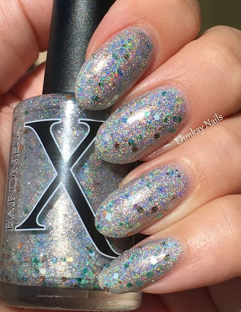 ehmkay nails: Baroness X The Lost Coast Collection, Swatches and Review. Baroness X Glass Beach