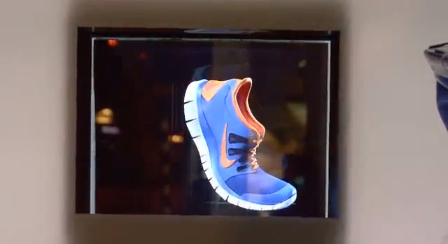 4440ce11ab31 Nike Uses Public Holographic Displays To Market New Running Shoes ...