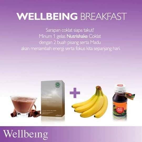 Nutrishake Chocolate Makanan Dan Minuman Sarapan Resep Sehat