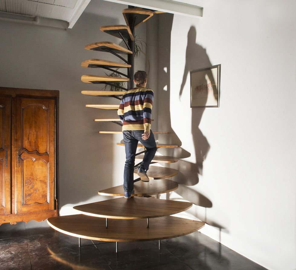 Scale A Chiocciola Moderne 40 idee scale moderne per interni   staircase design, spiral