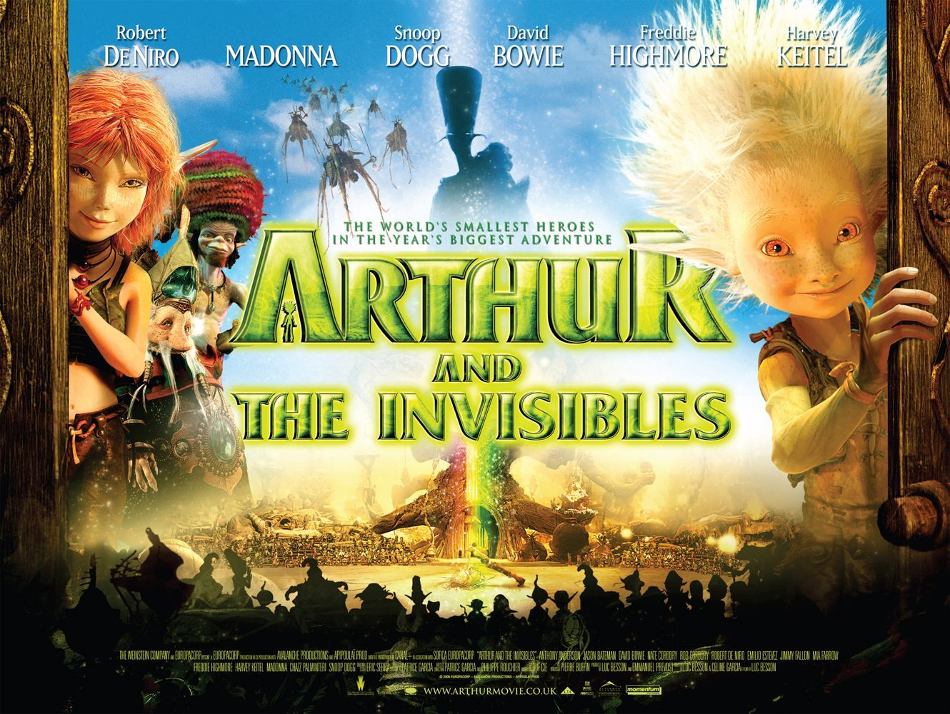 arthur and the invisibles extra large movie poster great