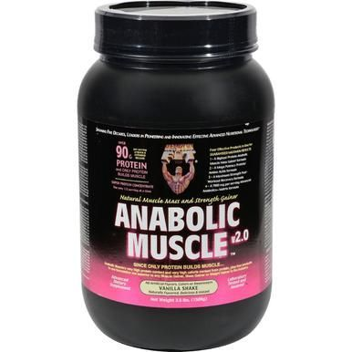 Healthy n Fit Nutritionals Muscle Vanilla Shake  35 Lbs  Healthy n Fit Nutritionals Muscle Vanilla Shake  35 Lbs