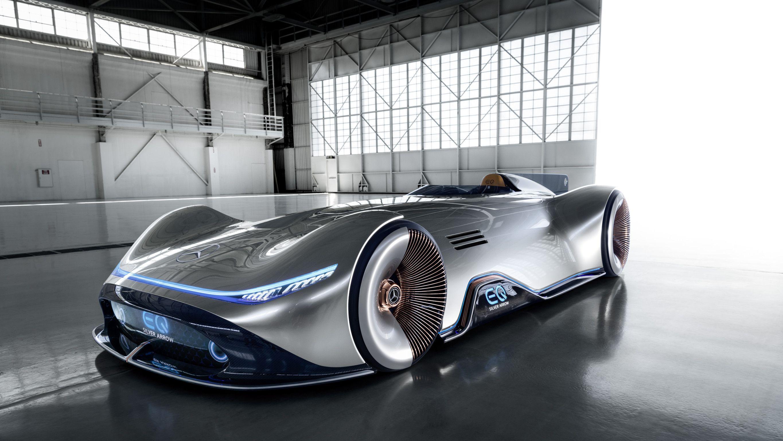 Mercedes Benz Vision Eq Silver Arrow Future Concept Cars Mercedes Maybach Benz