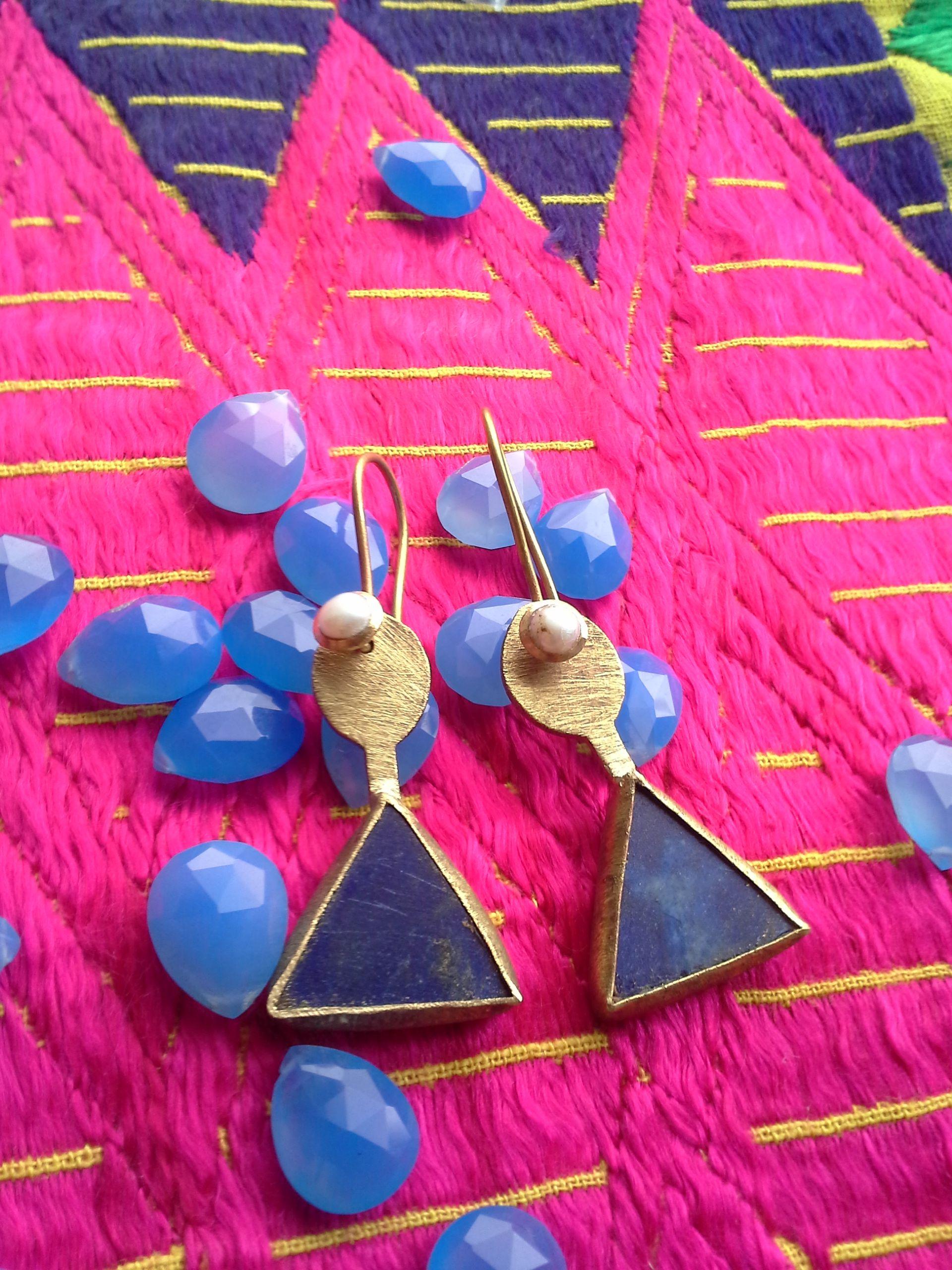 Lapislazuli´s Earrings