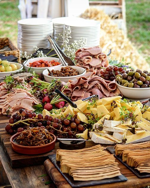 Rustic Wedding Food Ideas: Our Grazing Tables Are Perfect For Wedding, Private And