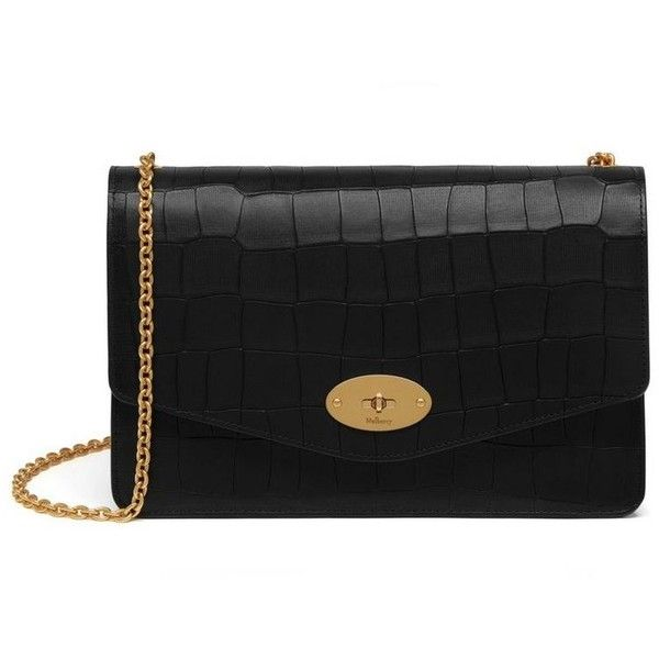 1b9ad48140b Mulberry Darley ($865) ❤ liked on Polyvore featuring bags, handbags,  clutches, genuine leather handbags, kiss-lock handbags, mulberry handbags,  ...