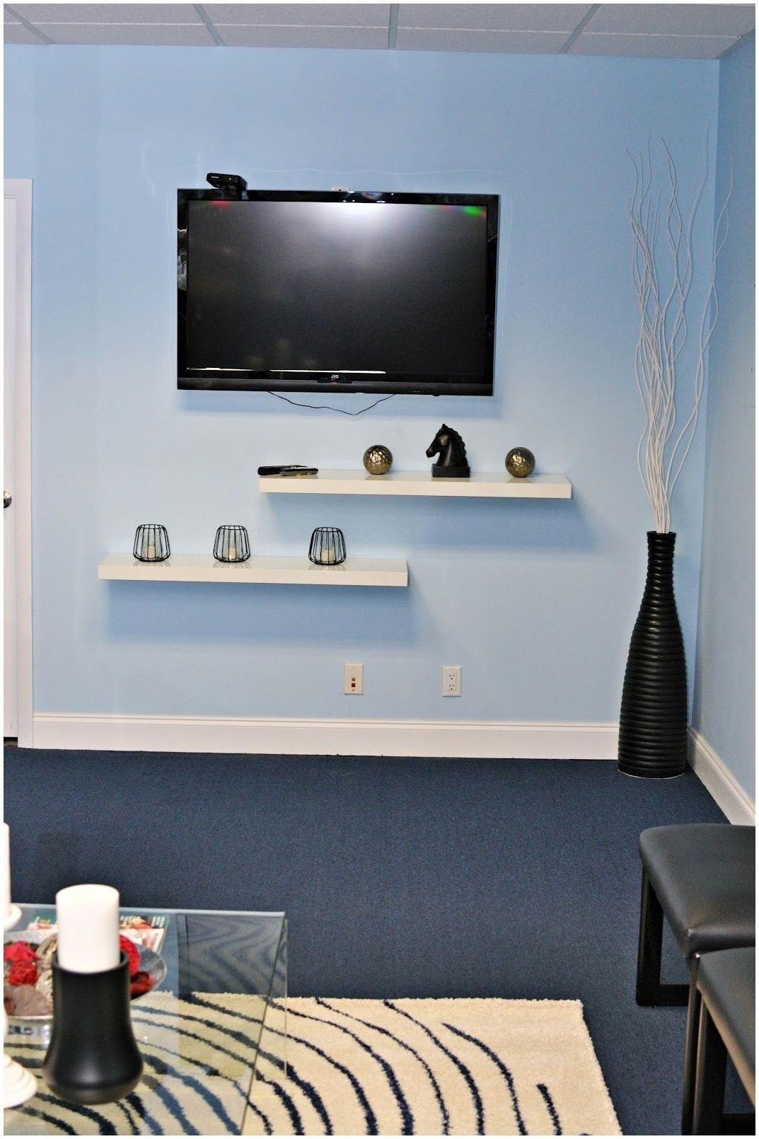 Wall Mounted Tv Shelf For Cable Box Tvbracketdiy Floating Shelf