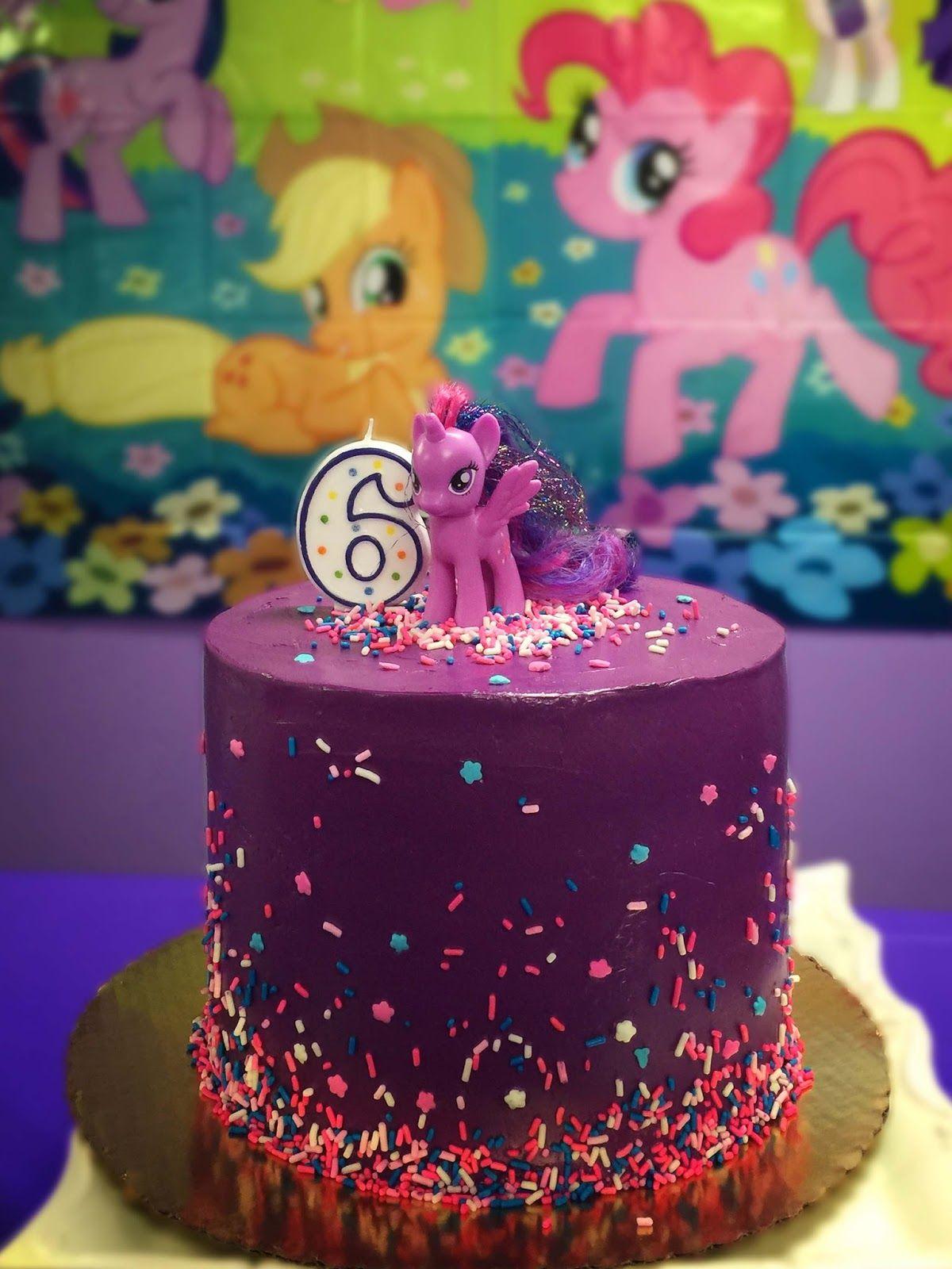 A Sparkling Purple Birthday Party Celebration