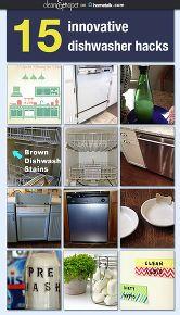 cleaning tips dishwasher hacks, appliances