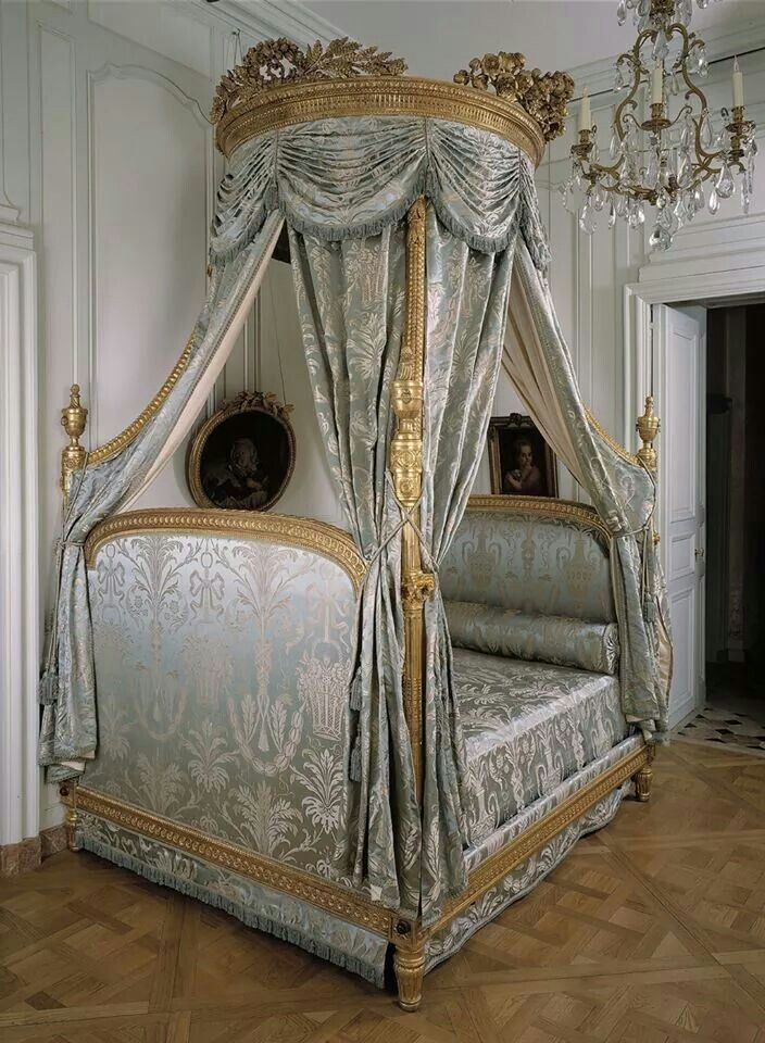 Lit A La Polonaise Attribue A Gorge Jacob Canopy Bedroom Design Bed Furniture