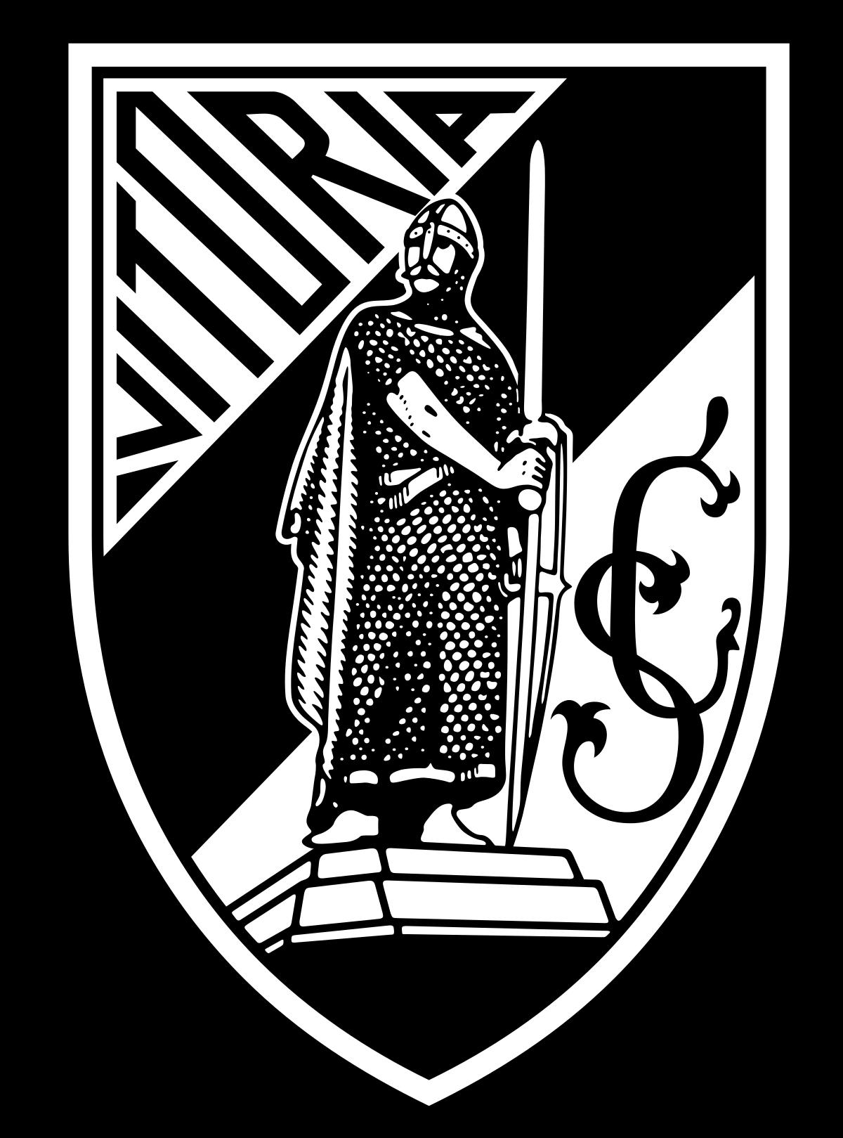 Vitoria Guimares of Portugal crest. Vitória de guimarães