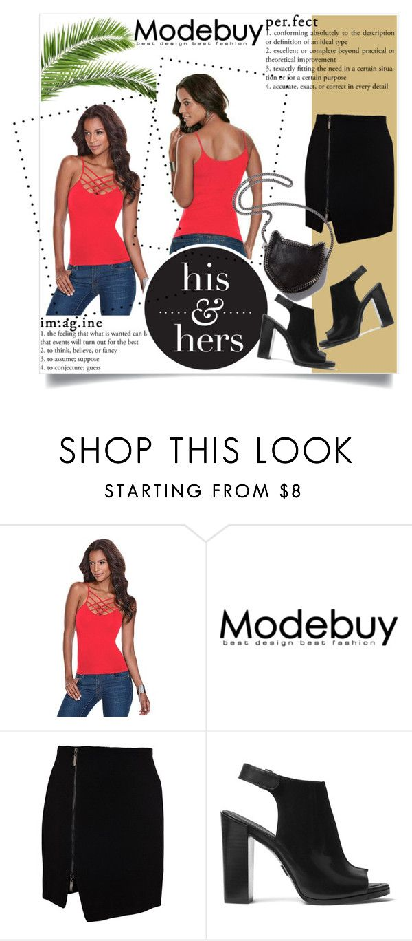 """""""red"""" by dina-97 ❤ liked on Polyvore featuring Michael Kors, STELLA McCARTNEY and modebuy"""