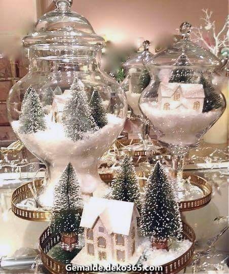 Unglaubliche Eine DIY Dekoration wirklich problemlos und hübsch. Mach es! #weihnachtendekorationtischdekoration
