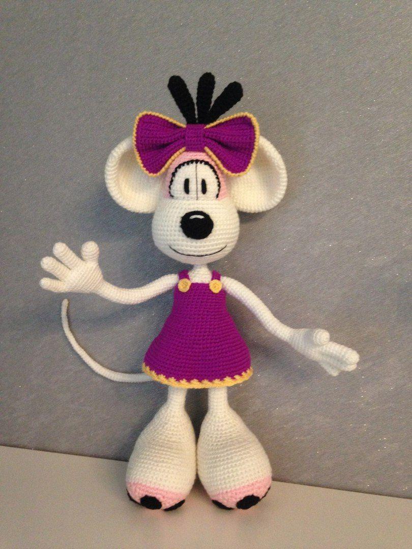 Pin Von Monika B Auf Amigurumi N More Mäuse Ratten Pinterest