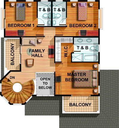 Model house floor plans