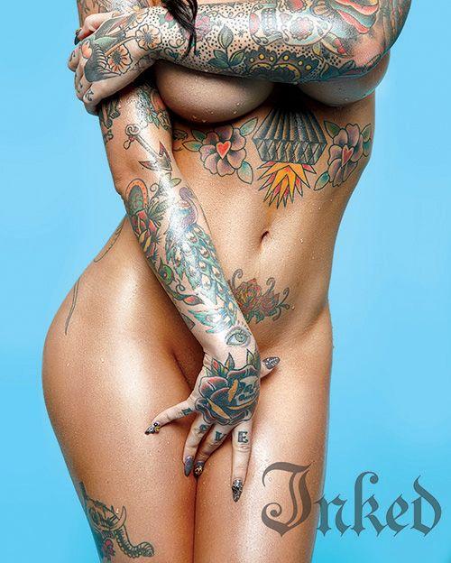 Pin On Tattooed Celebrites