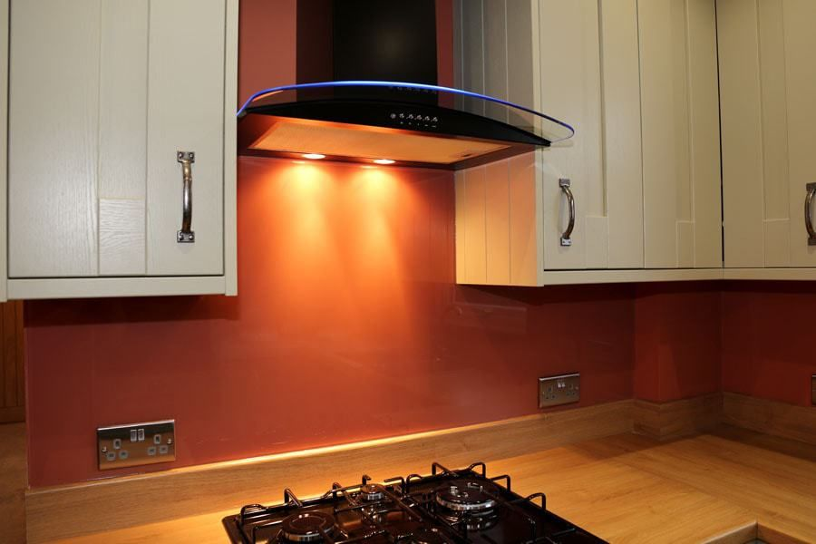 Burnt Orange Splashback Farrowandball Home Pinterest