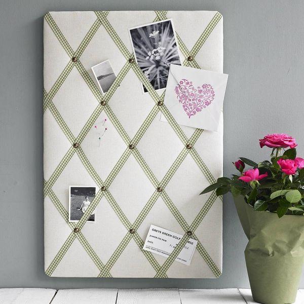 Pinnwand pinnadeln fotos rechteckig home interior decoration ideas w nde pinnwand basteln - Pinnwand selber bauen ...