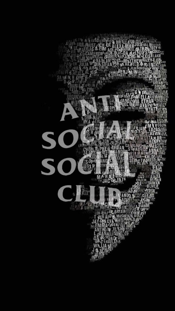 Pin by 尼玛 王 on 文字 Hypebeast wallpaper, Anti social