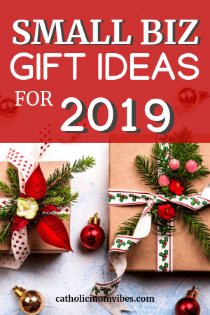 Need Some Unique Ideas For Christmas Gifts This Post Will Outline Some Small Biz Gifts That Anyone Can Love Gift Catholic Mom Catholic Gifts Catholic Crafts