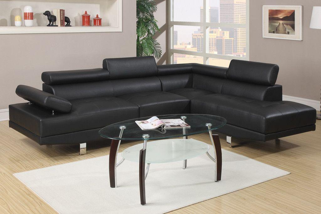 1 Er Black Faux Leather Sofa Home Furnishings Of Florida Orlando Furniture Dealer A Dhp Contractors Llc Company 407 636 3599 Hablamos