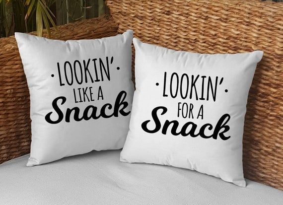 Valentines Present For Boyfriend Valentines Day Gift Set Valentines Surprise For Her Funny Pillow Ca