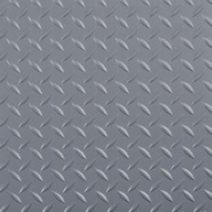 G Floor Raceday Diamond Tread Slate Grey 12 In X 12 In Peel And Stick Polyvinyl Tile 20 Sq Ft Case T95dt12sg20p3 The Home Depot Vinyl Garage Flooring Garage Floor Peel And Stick Tile